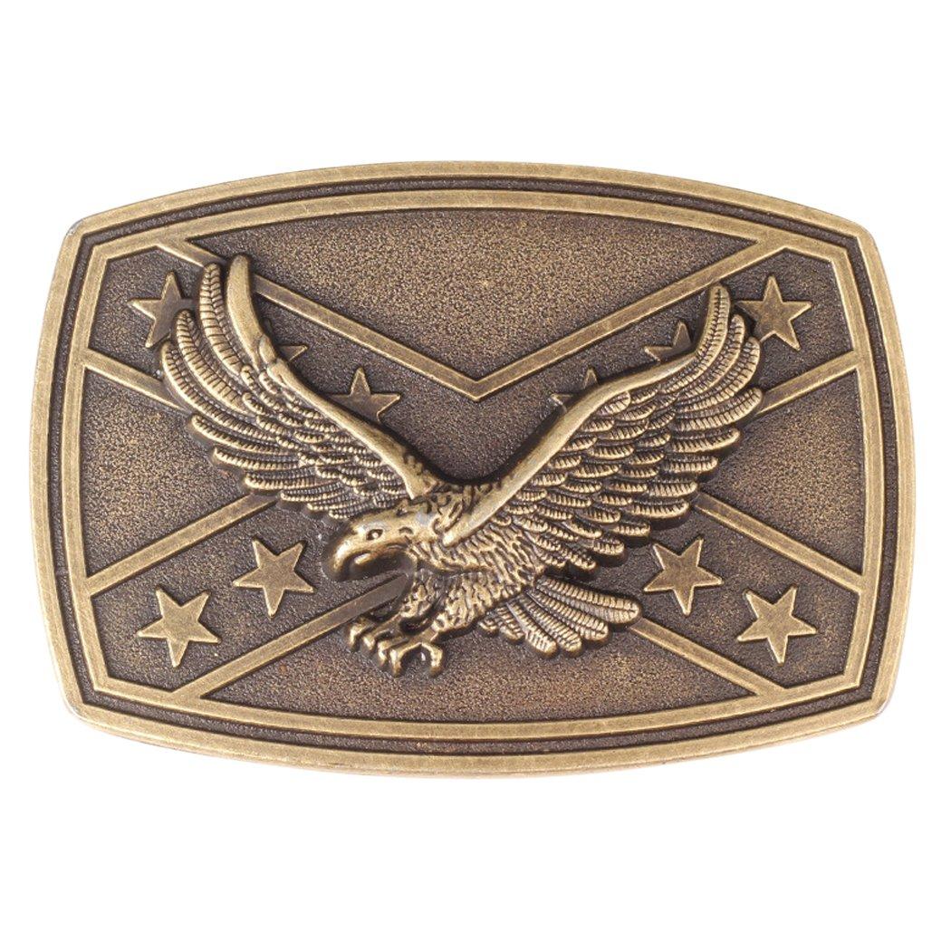 Zoylink Mens Belt Buckle Metal Belt Buckle Decorative Soaring Eagle Unique Novelty Buckle