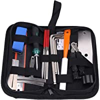 Fhdpeebu Guitar Tool Kit Repairing Maintenance Tools String Organizer String Action Ruler Gauge Measuring Tool Hex…