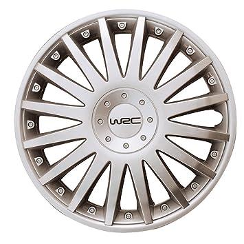 "WRC 4 Tapacubos Silver Diseño 3 13"" ..."
