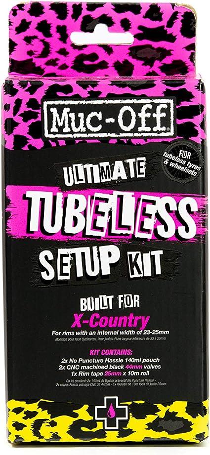 Muc Off Umrüstsatz Ultimate Tubeless Reifen Kit X-Country Gravel Fahrrad Umbau