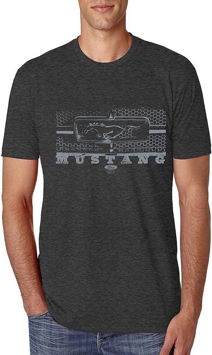 Vintage Ford Mustang Silver Honeycomb Grill en d/étresse T-Shirt Premium Tri Blend pour Voitures et camions pour Hommes