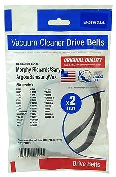 Morphy Richards 73369 Aspirapolvere Cinture X 2 prodotto di alta qualità