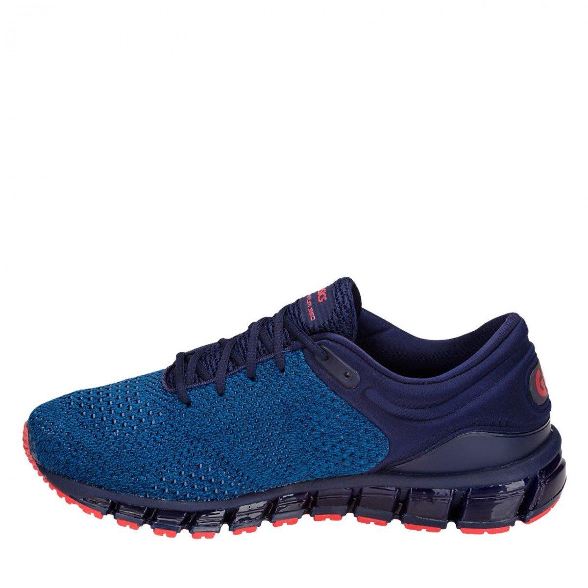 Asics Gel-Quantum 360 Knit 2, Zapatillas de Running para Hombre 41.5 EU|Azul (Race Blue/Peacoat 400)