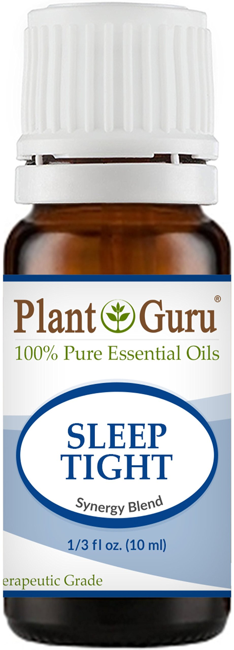 Sleep Tight Synergy Essential Oil Blend 10 ml. 100% Pure Undiluted Therapeutic Grade. Good Night Aid, Relaxation, Depression, Stress, Anxiety Relief, Mood, Uplifting, Calming, Aromatherapy