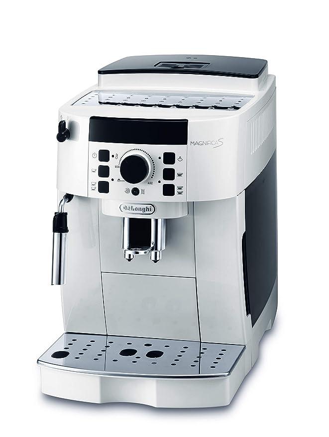 DeLonghi ECAM 21.110.W Cafetera automática 1450 W, 1.8 litros, Blanco: Amazon.es: Hogar