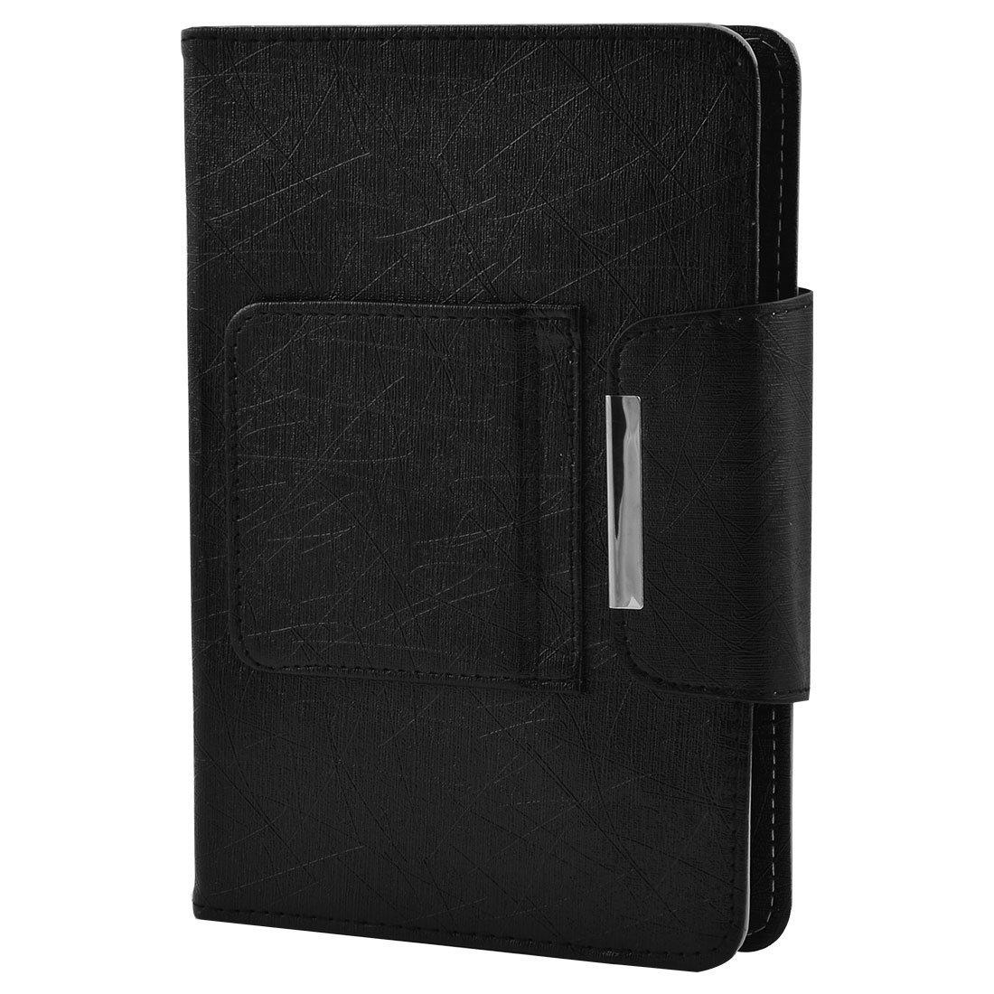 Amazon.com: eDealMax PC portátil de Cuero de la PU del Bluetooth desmontable teclado inalámbrico Negro de la cubierta DE 7 pulgadas 8 pulgadas Tablet: ...