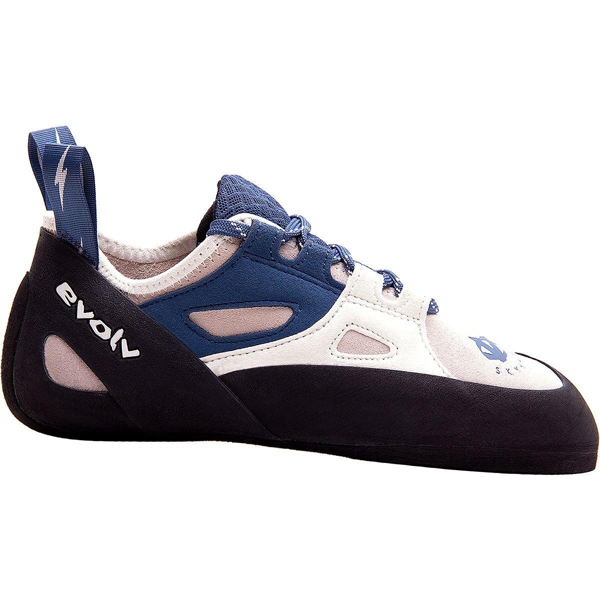 Evolv Skyhawk Climbing Shoe – Women 's ホワイト/ブルー 11 B(M) US