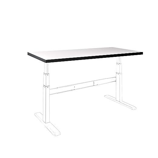 celexon Tabla de mesa HPL con una borde protector de ABS y ...