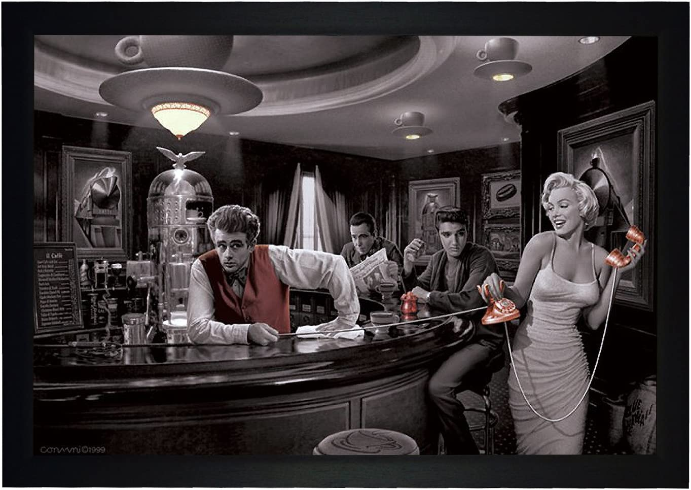 Chris Consani Love/'s Return Marilyn Monroe Elvis Presley Print Poster 11×14