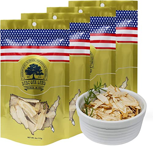 DOL American Ginseng Slice 4oz Bag 4Bags from Wisconsin Sliced Ginseng Root 113g Bag