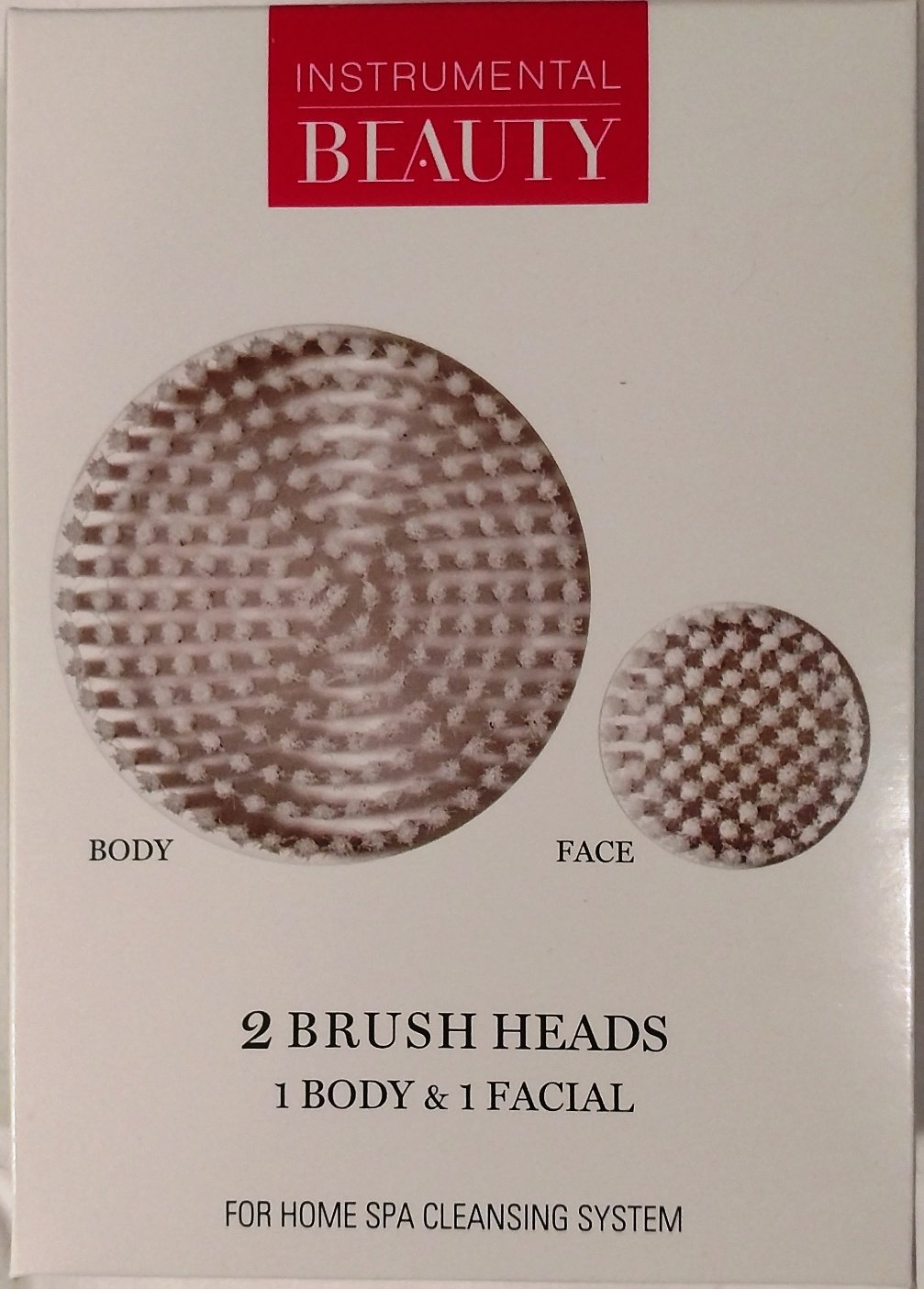 Instrumental Beauty Home Spa Brush Refills, 2 Count Lornamead Brands Inc