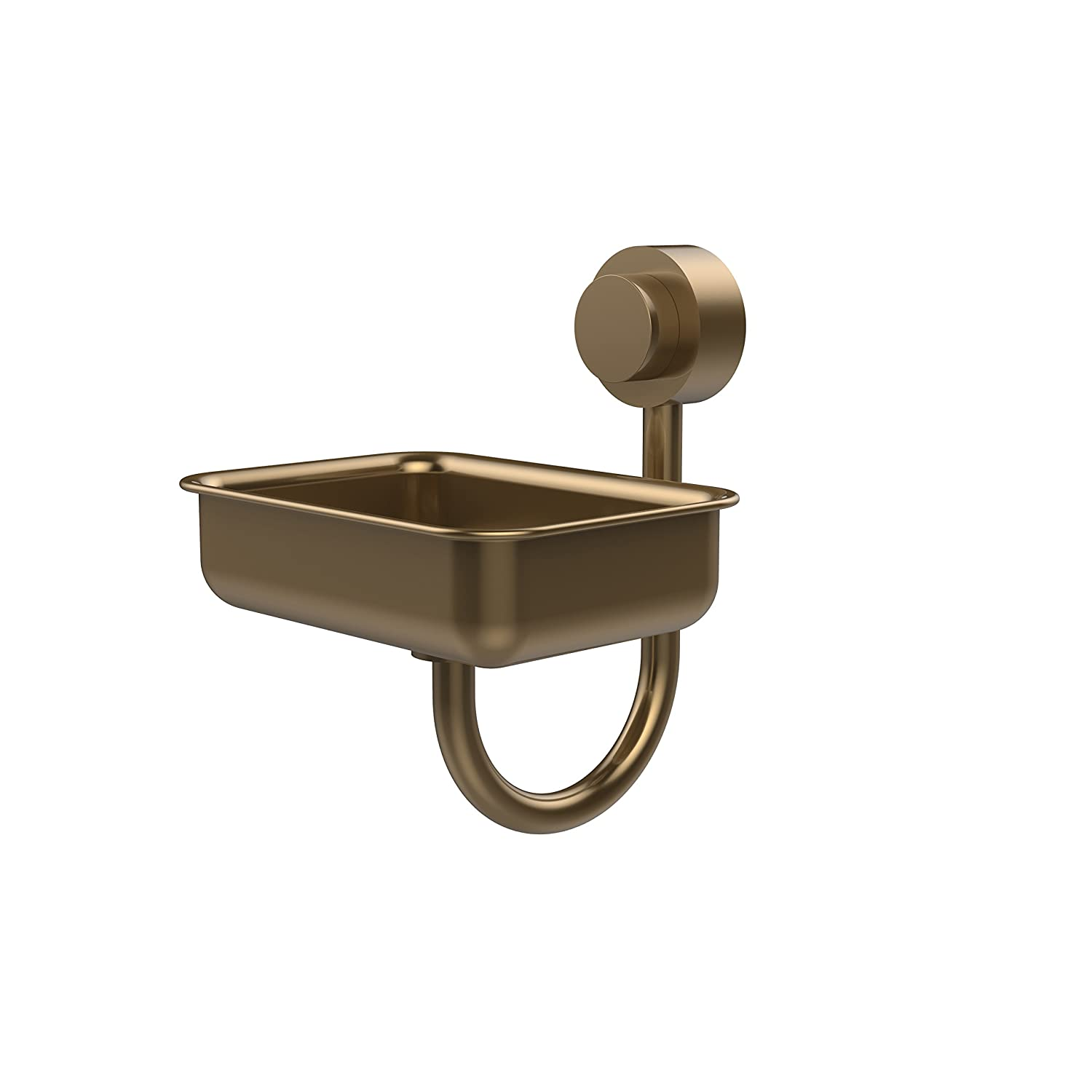 Allied Brass 432-BBR Venus Collection Wall Mounted Soap Dish Brushed Bronze