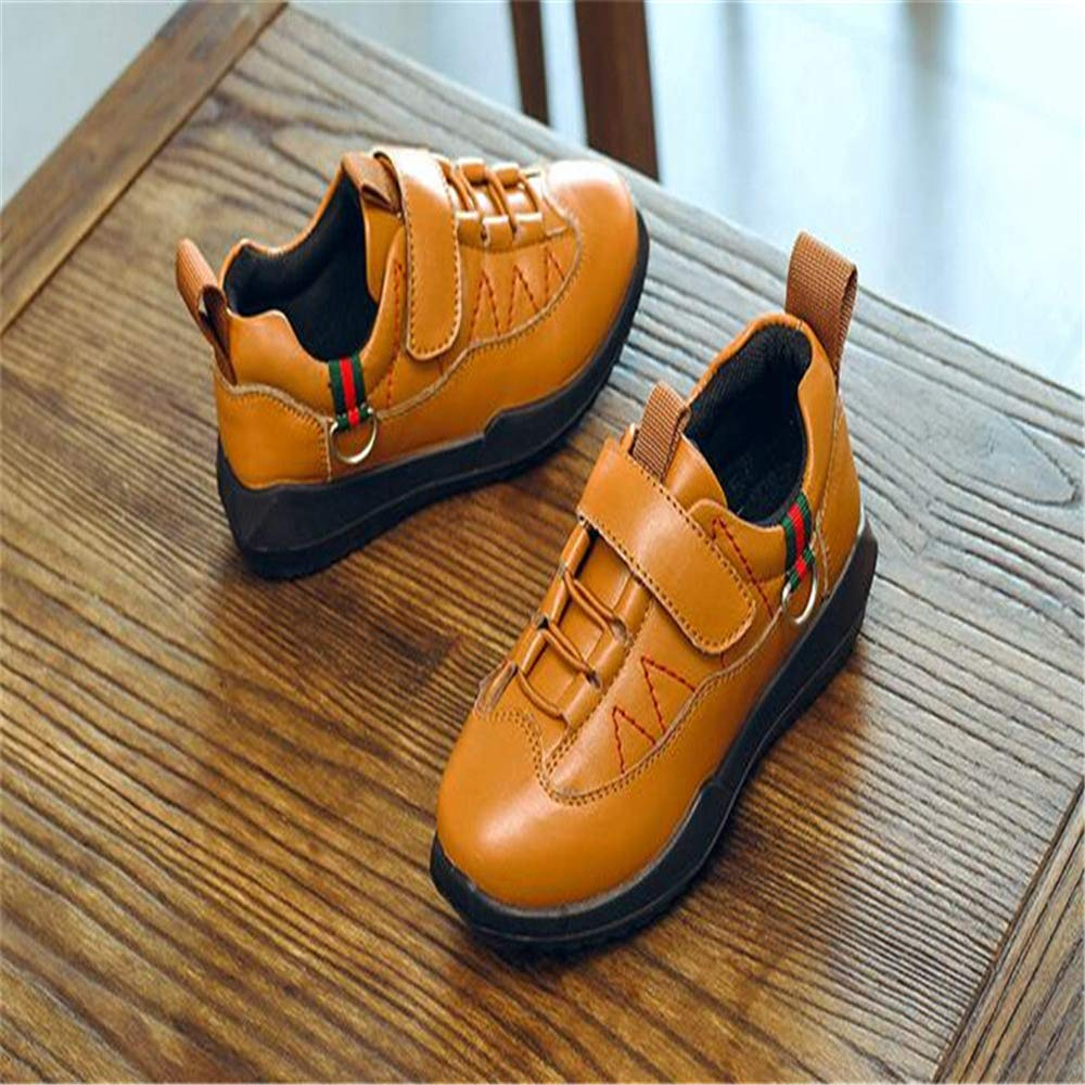 Gusha Toddler Shoes Retro Booties Martin Boots Boys and Girls Snow Boots