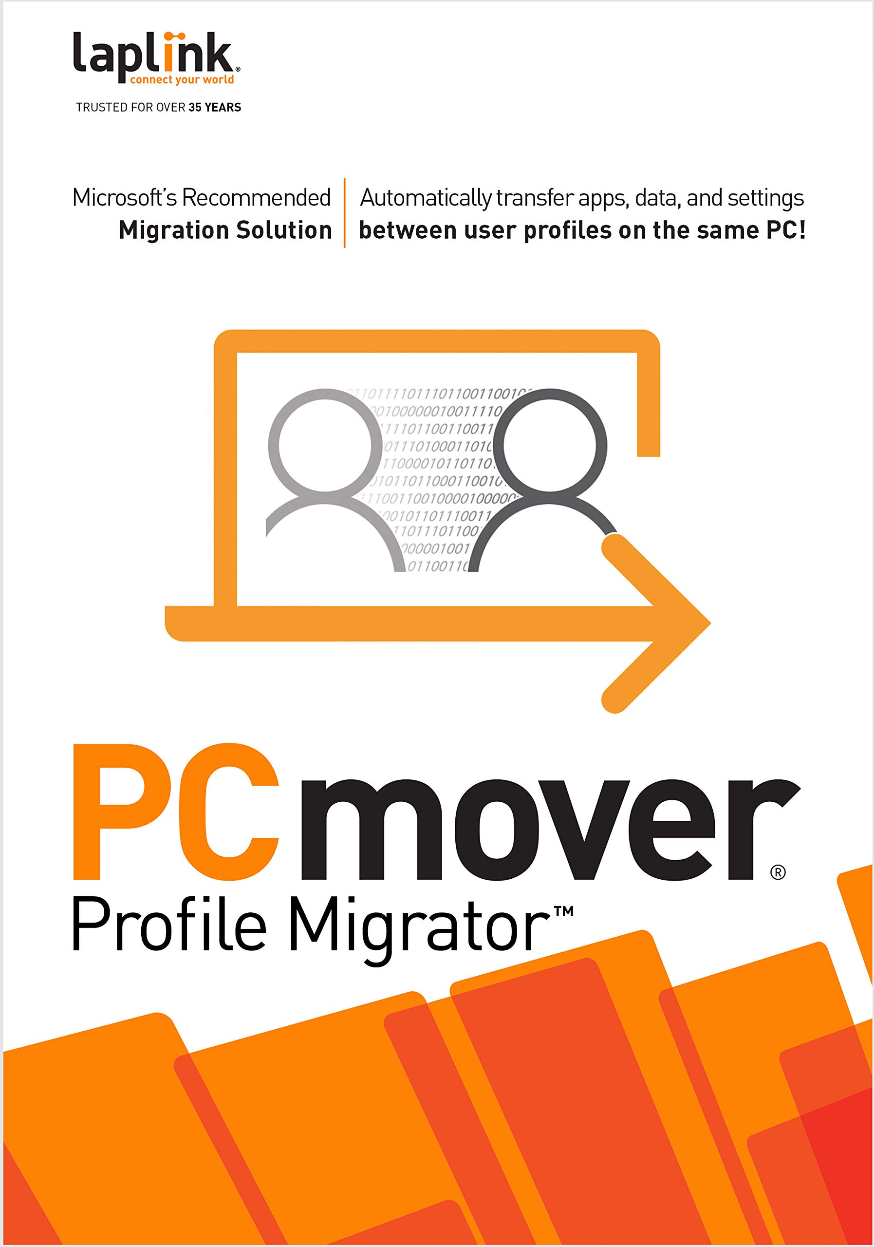 PCmover Profile Migrator (1 Use) [PC Download] by Laplink Software, Inc.