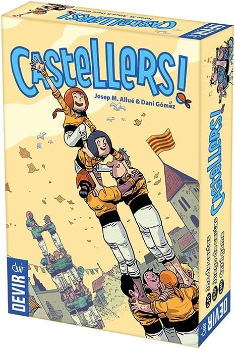 Devir Castellers, Juego de Mesa, Miscelanea (BGCASTELLS): Amazon.es: Juguetes y juegos