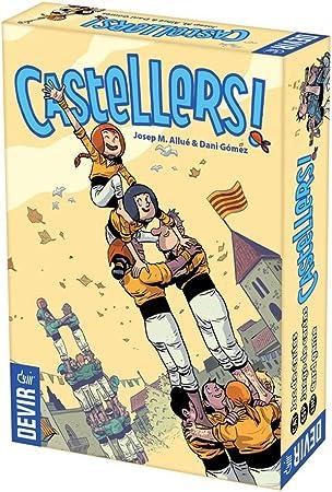 Devir Castellers, Juego de Mesa, Miscelanea (BGCASTELLS): Amazon ...