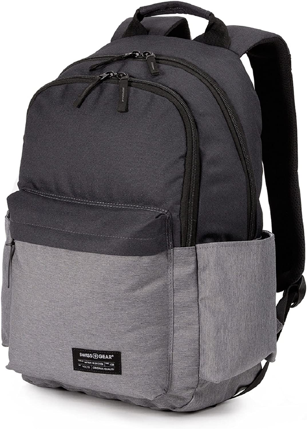 SWISSGEAR 2789 LAPTOP SCHOOL COLLEGE BACKPACK-BLACK GRAY