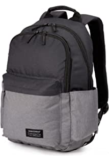2a47b324d337 Swiss Gear Polyester Grey Hether Backpack  Amazon.in  Bags