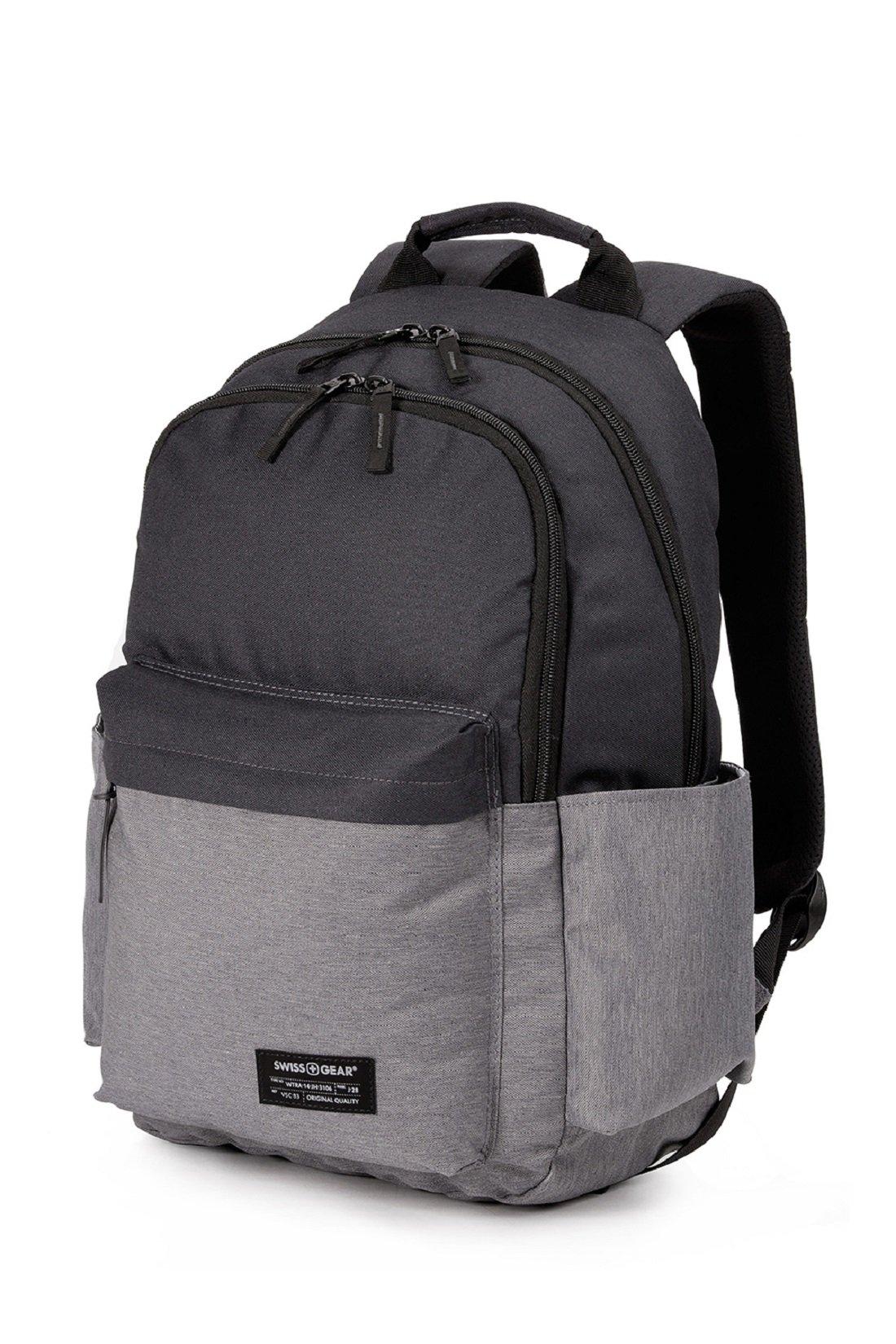 SWISSGEAR 2789 Laptop School College Backpack-Black/Gray by Swiss Gear