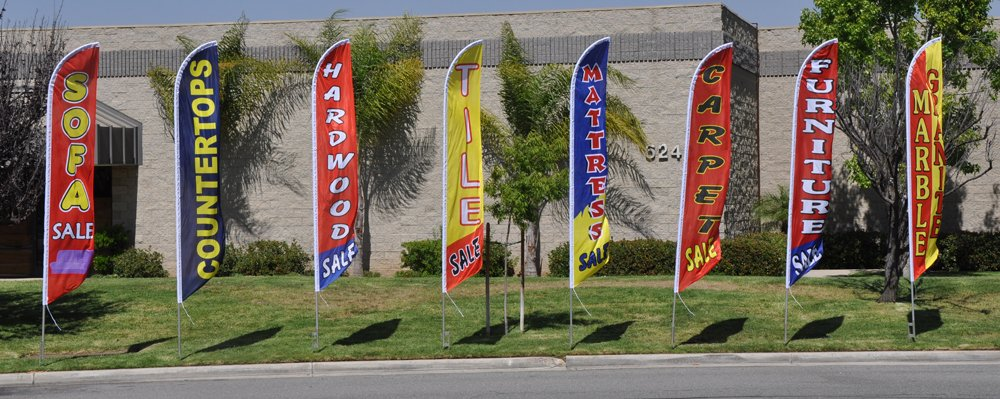 Amazon.com: SE VENDEN COLCHONES 15ft Feather Banner Swooper Flag Kit - INCLUDES 15FT POLE KIT w/ GROUND SPIKE: Everything Else
