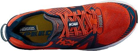 Hoka Tracer 2 Tangerine/Pearl – Zapatillas Running Hombre, -, 41 1-3