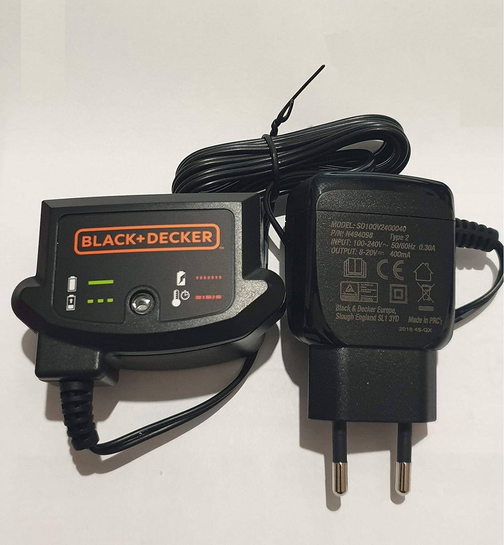 Black /& Decker Charger Power Supply 14.4v 18v dv1415 dv1815 fej520 Smart