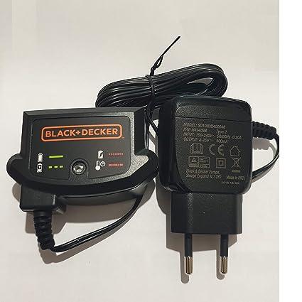 Black & Decker Cargador de batería Fuente bdcjs18 glc1823 ...