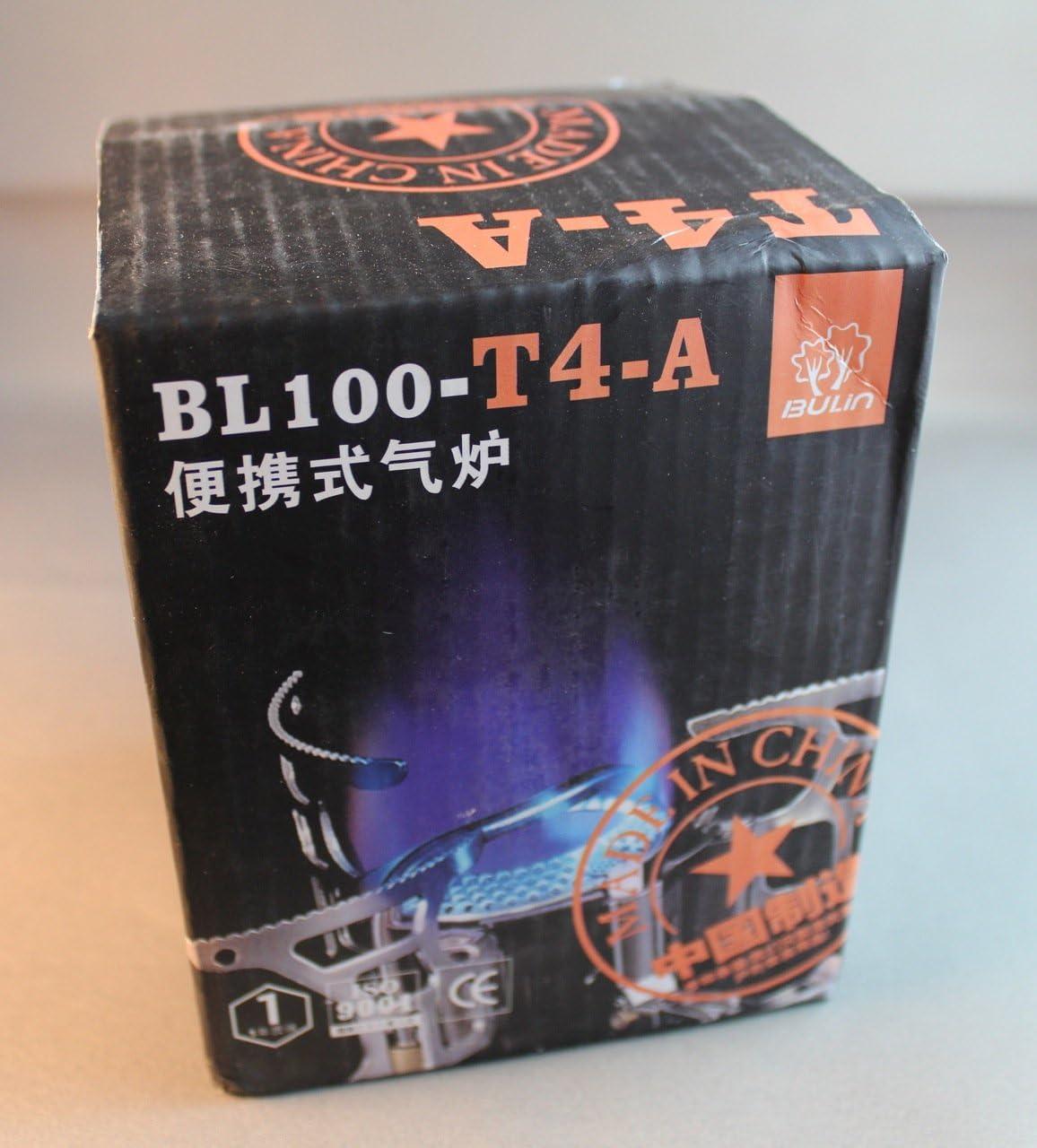 Bulin BL100-T4-A - Hornillo compacto plegable para camping