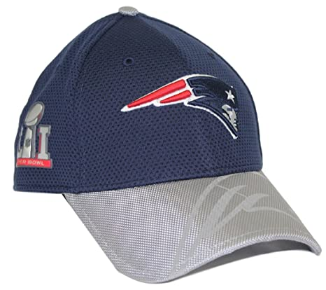 89775db66ef397 New Era New England Patriots Super Bowl LI (51) Side Patch 39Thirty Flex Hat