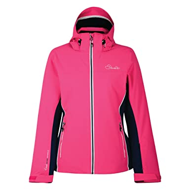 d753fc73e5 Amazon.com  Dare 2b Womens Ladies Invoke II Ski Jacket (4 US) (Cyber ...