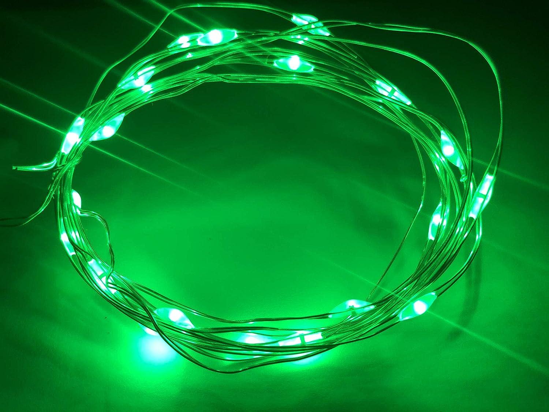 LED Bike Wheel Lights Spoke//Waterproof Bicycle Lights//Bike Wheel Lights Ultra Bright Green Cycling Decoration Safety Warning Tire Strip Light 1Pack