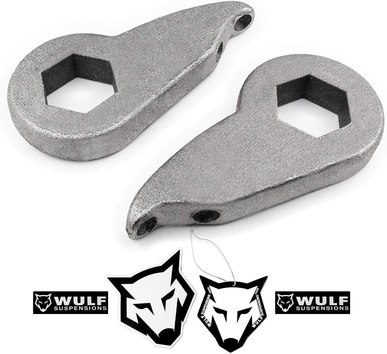 WULF 1997-2003 Ford F150 F-150 3 Front Leveling Lift Kit Adjustable Torsion Keys 4X4 4WD Suspensions
