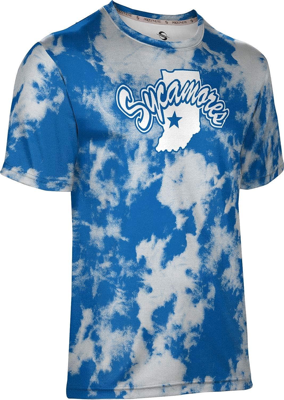 Grunge ProSphere Indiana State University Mens Performance T-Shirt