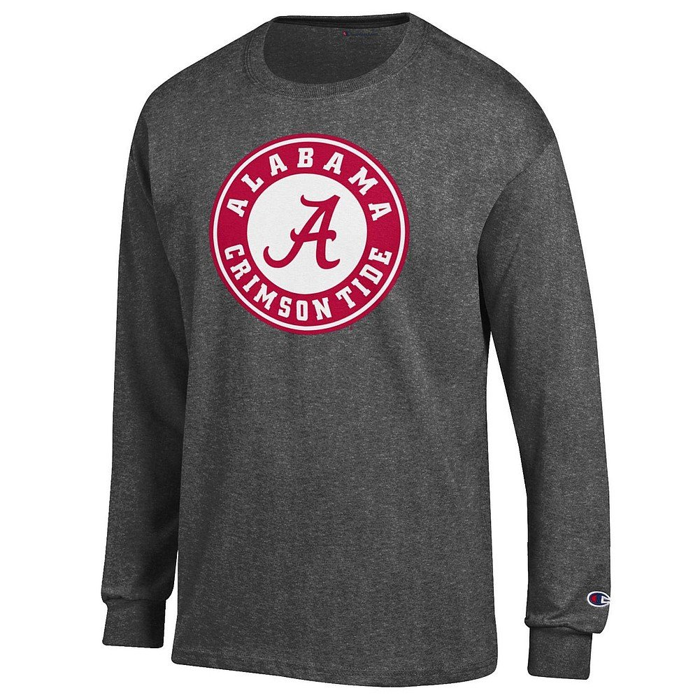 Elite Fan Shop NCAA Long Sleeve Shirt Dark Heather Icon