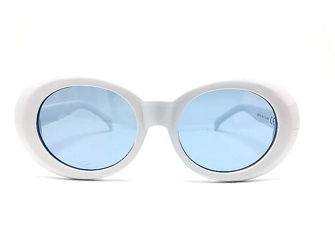 Optica Vision-Specs Gafas de sol ovaladas blancas kurt ...
