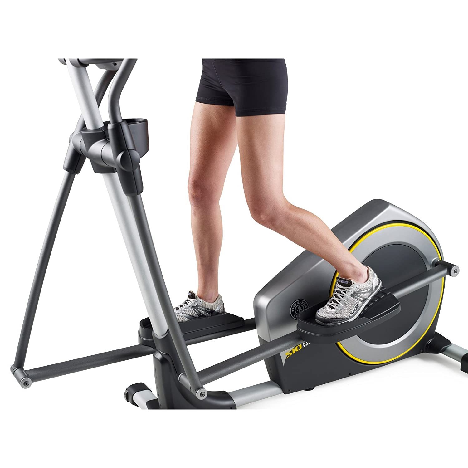 Amazon.com : Golds Gym GGEL63812 Elliptical Stride Trainer 510 : Sports & Outdoors