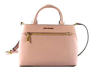 76ab4f8f83c2 MICHAEL Michael Kors Women s HAILEE Medium Satchel Leather Handbag (Blossom)
