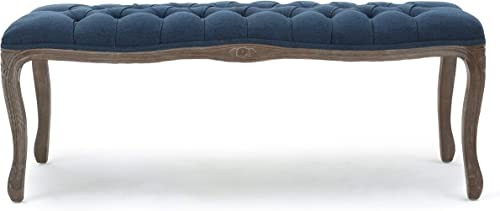 Christopher Knight Home Tassia Tufted Fabric Bench