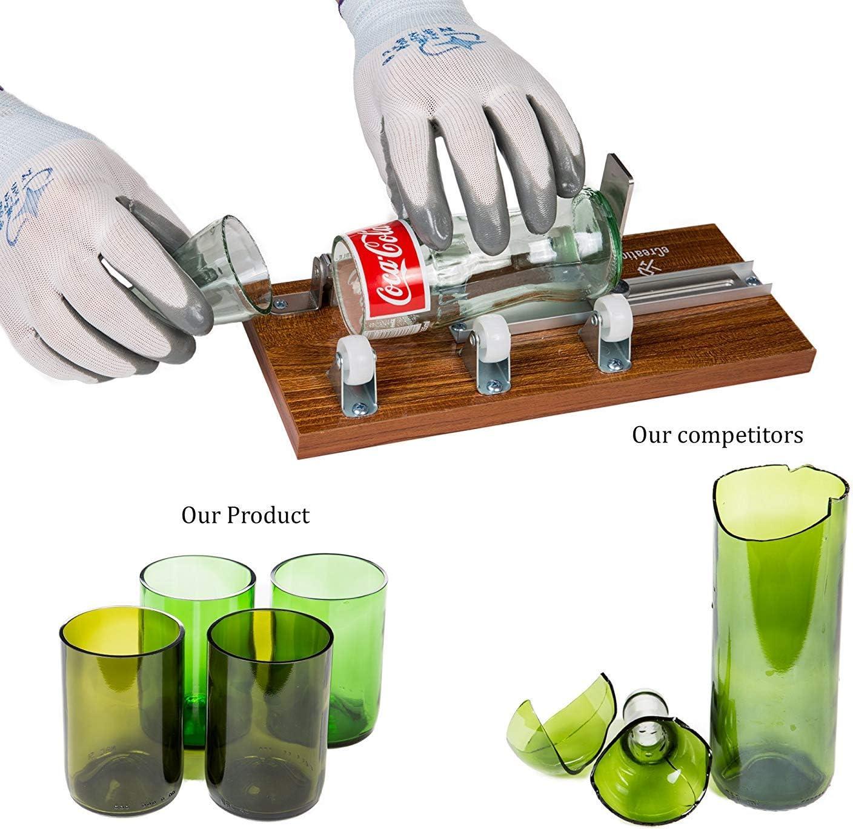 Glass Bottle Cutter, eCreationz Glass Bottle Cutter Tool Machine