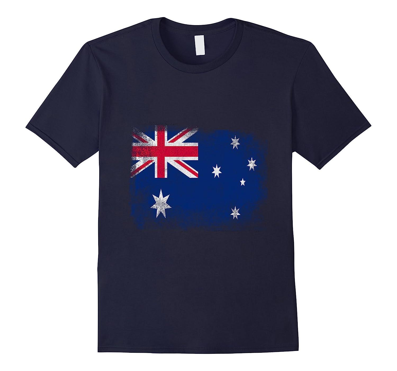 Australia Shirt - Australian Flag Vintage-Vaci