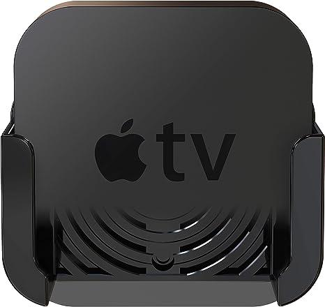 Innovelis TotalMount - Soporte para el Apple TV 4 con adaptador para el antiguo Apple TV 2 y 3, Negro: Amazon.es: Electrónica