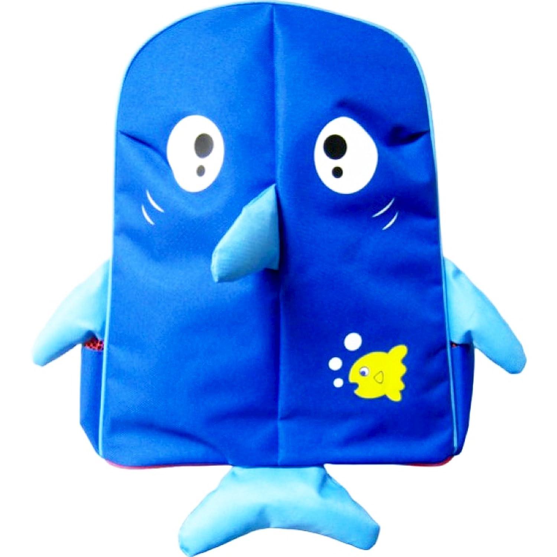 Basico Kids Animal Fun Backpack 3D Design Pink Owl