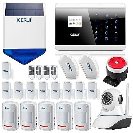 Kerui 8218G - Alarma para la casa, evita intrusiones, GSM ...