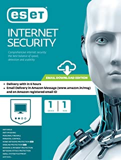 Eset Smart Security- 1 PC, 1 Year (Email Delivery in 2 hours- No CD