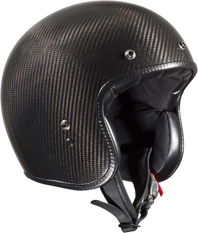 Bandit Helmets ECE 22-05 Carbon Jethelm Motorrad-Roller-Helm