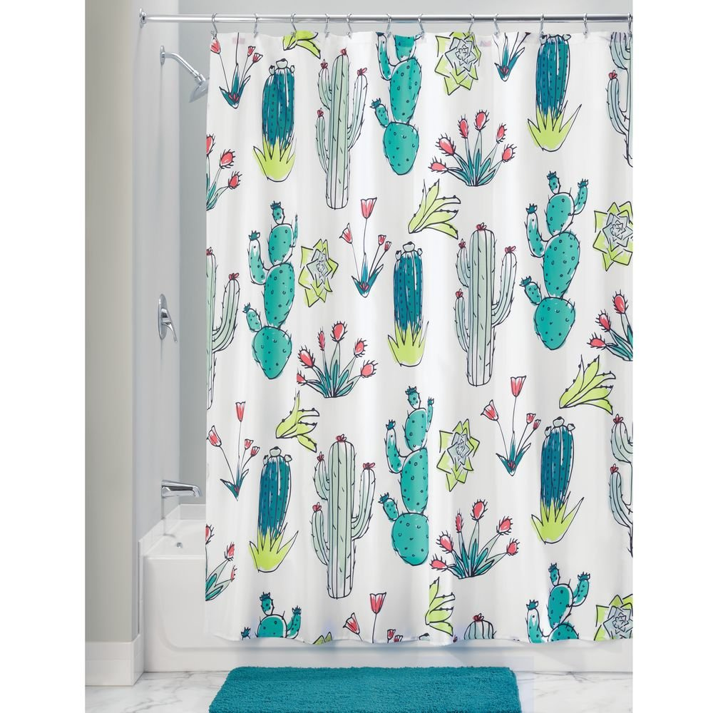 Amazon.com: InterDesign Nyc Fabric Shower Curtain-72 x 72\