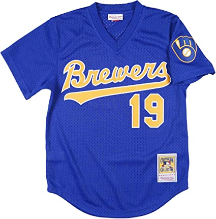 Mitchell and Ness Robin Yount Mesh BP