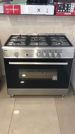 Gas Stand Cocina/Gas Horno/90 cm/Gas/112liter/acero inoxidable/LPG ...
