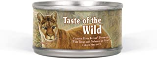 product image for Taste of the Wild High Protein Real Meat Grain-Free Recipe Wet Canned Cat Food, Made With Premium Ingredients That Include Sources of Vitamins, Antioxidants and Essential Nutrients