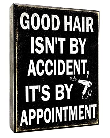 Amazon.com: JennyGems - Señal decorativa para peluquería ...
